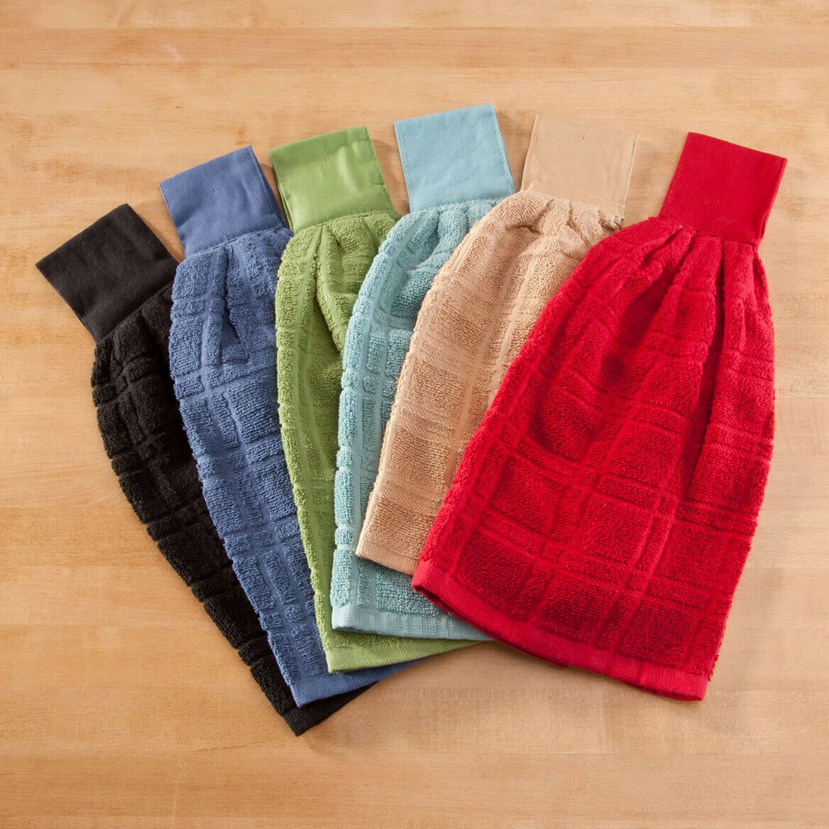Cotton Hanging Towel - Solid-354569
