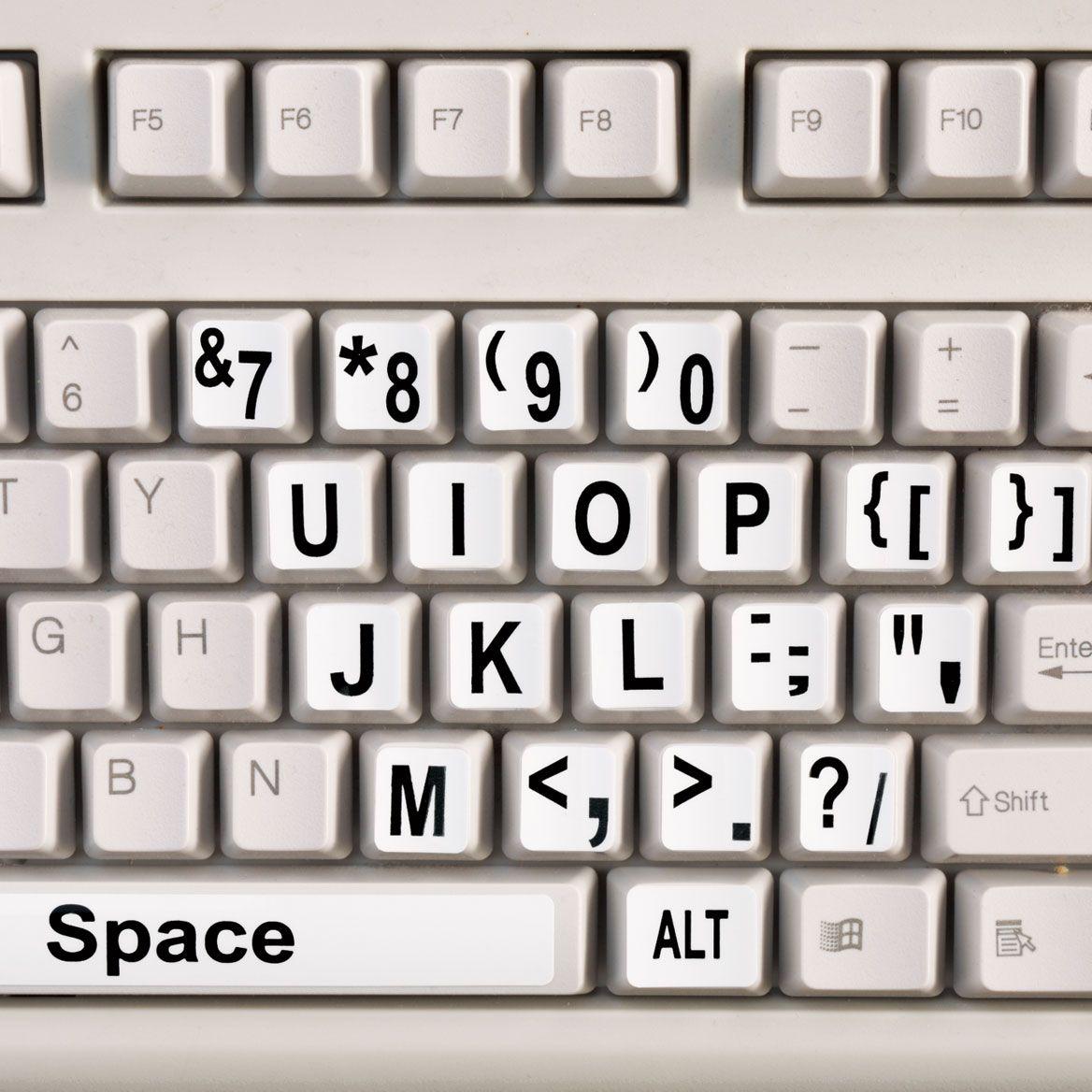 EZ Read Keyboard Labels-356736