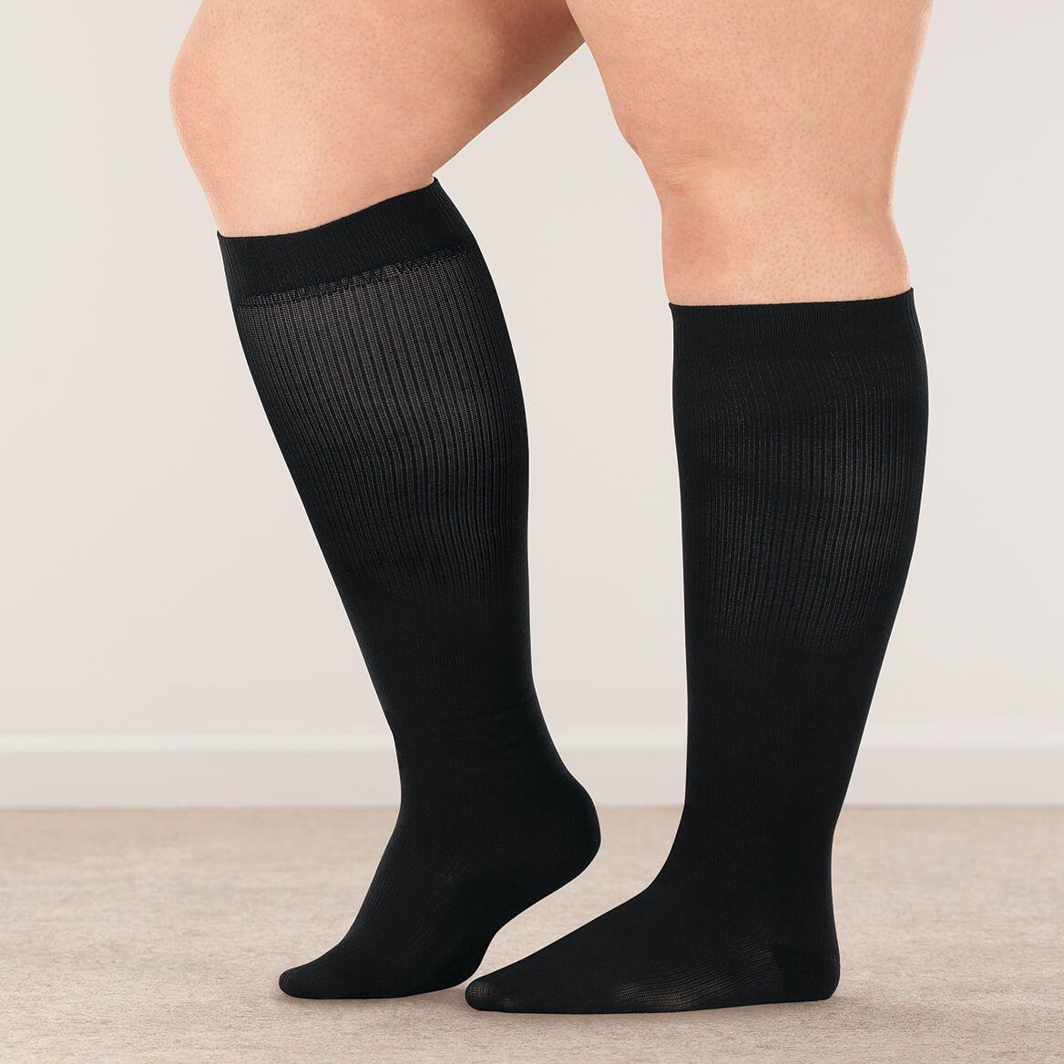 Silver Steps™ Wide Calf Compression Socks, 8–15 mmHg-358893