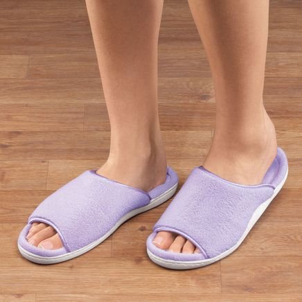 Open-Toe Terry Slipper-360022