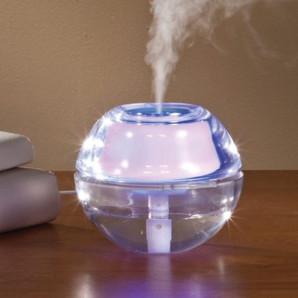 USB Humidifier & Diffuser with LED Night Light-360298
