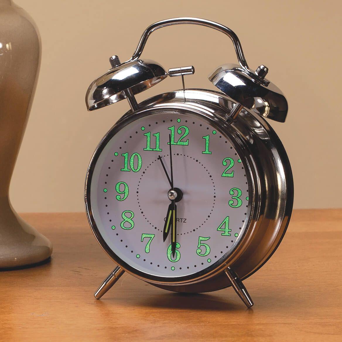 Vintage Glow in the Dark Alarm Clock-360437
