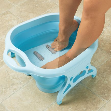 Collapsible Foot Spa with Massager-361380
