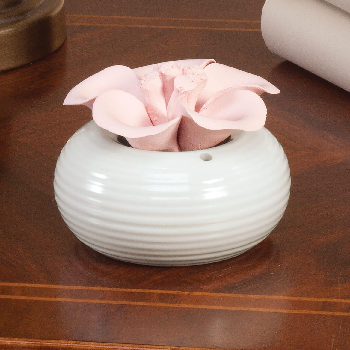 Ceramic Flower Aromatherapy Diffuser-361508