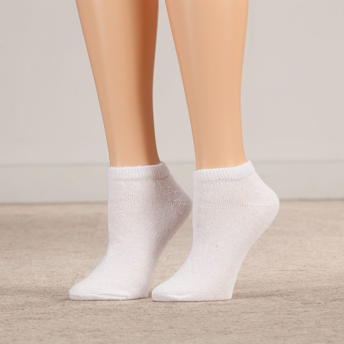 Silver Steps™ 3 Pack Low-Cut Diabetic Socks-361755