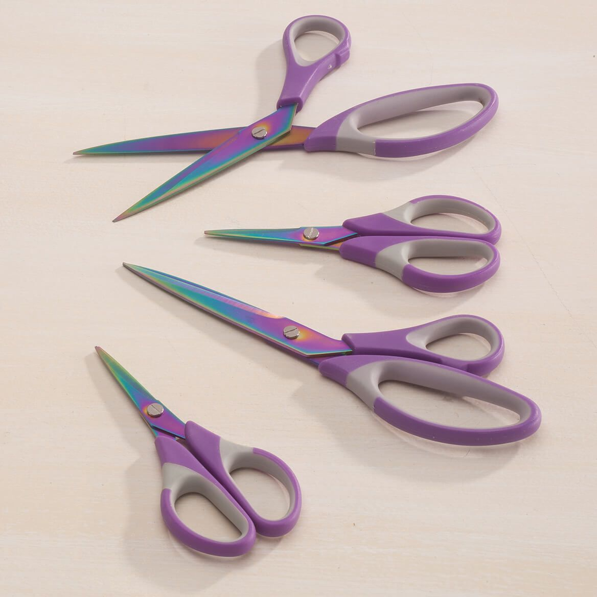 Titanium Purple Scissors Set of 4-362575