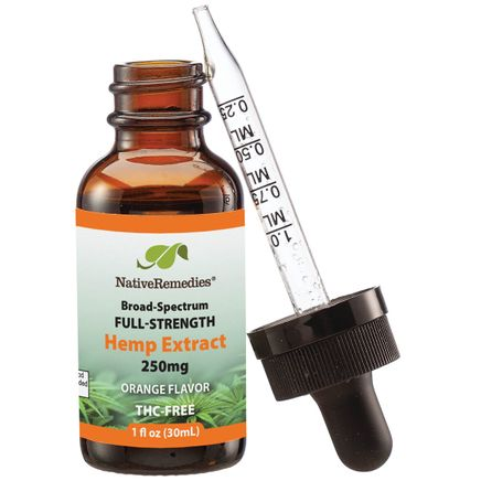 NativeRemedies® Full-Strength Hemp Extract 250mg-367949