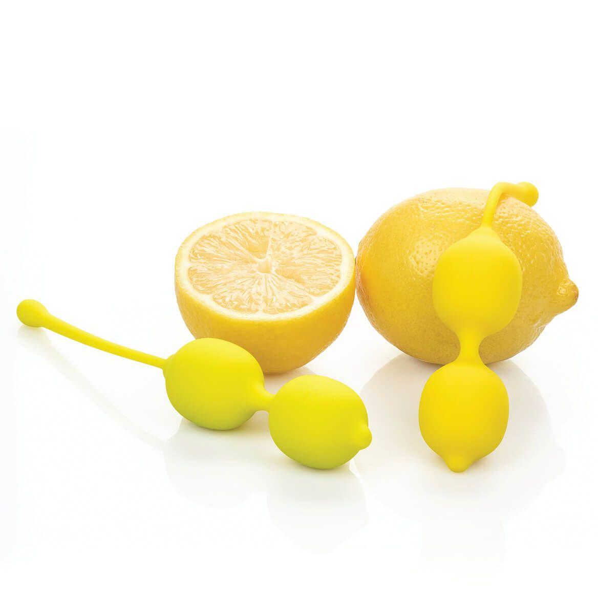 Lemon Variably Weighted Dual Kegel Training Balls, Set of 2-369678