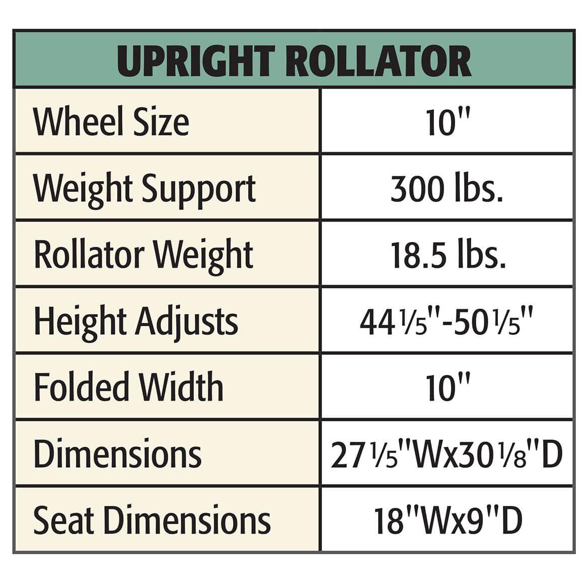 Upright Rollator-372006