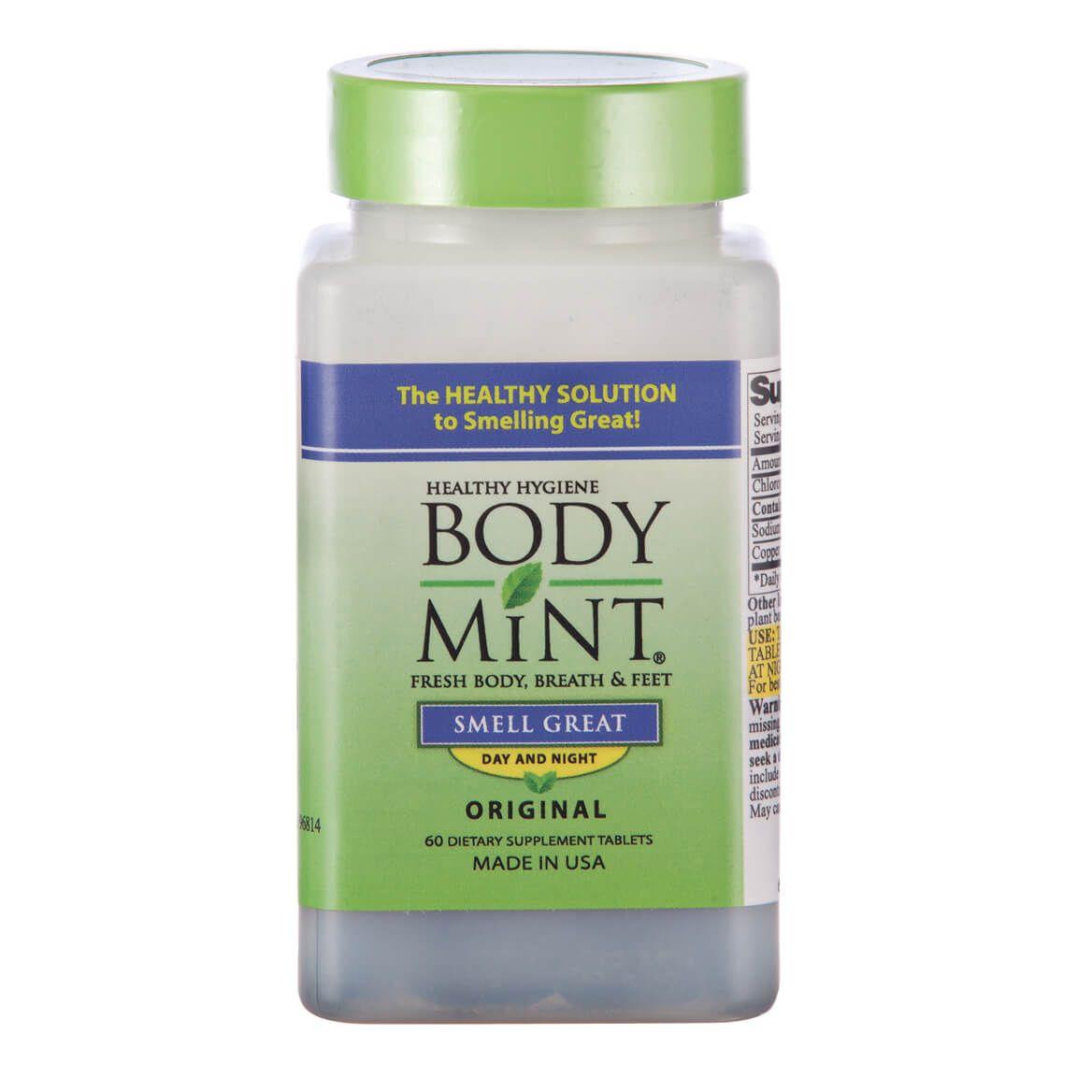 Body Mint® Body Odor Pill - 60 Tablets-303425