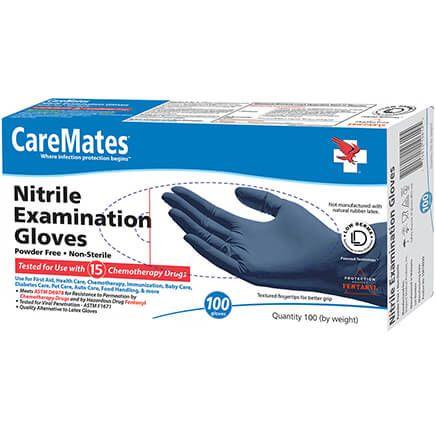 CareMates® Nitrile Exam Gloves, Set of 100-306629