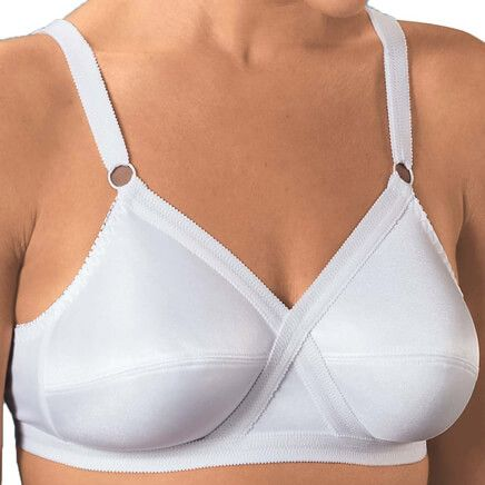 Cross and Shape Bra White, Set of 2-327188