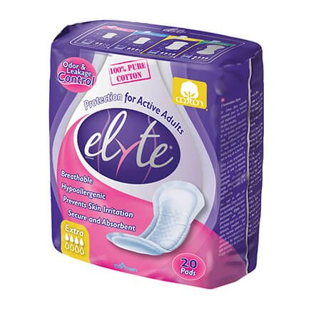 Elyte Incontinence Pads Extra - Case-333030