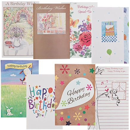 Birthday Cards Value Pack of 24-337184