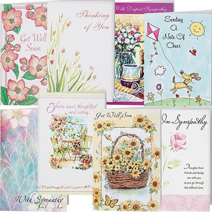 Encouragement And Sympathy Cards - Set Of 24-337641