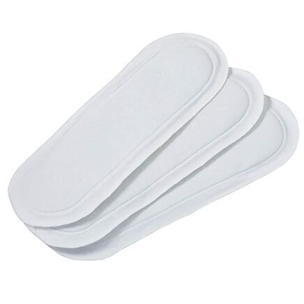 Extra Long Reusable Incontinence Pads Set of 3-343158