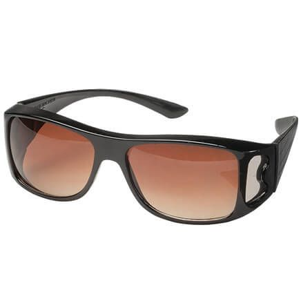 Clear View Wraparound Sunglasses-345672