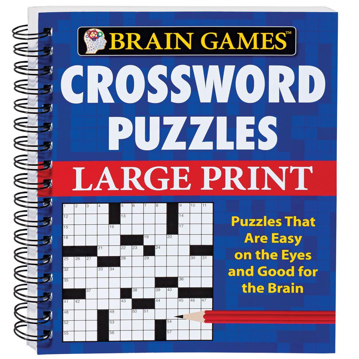 Brain Games Large Print Crossword-346375