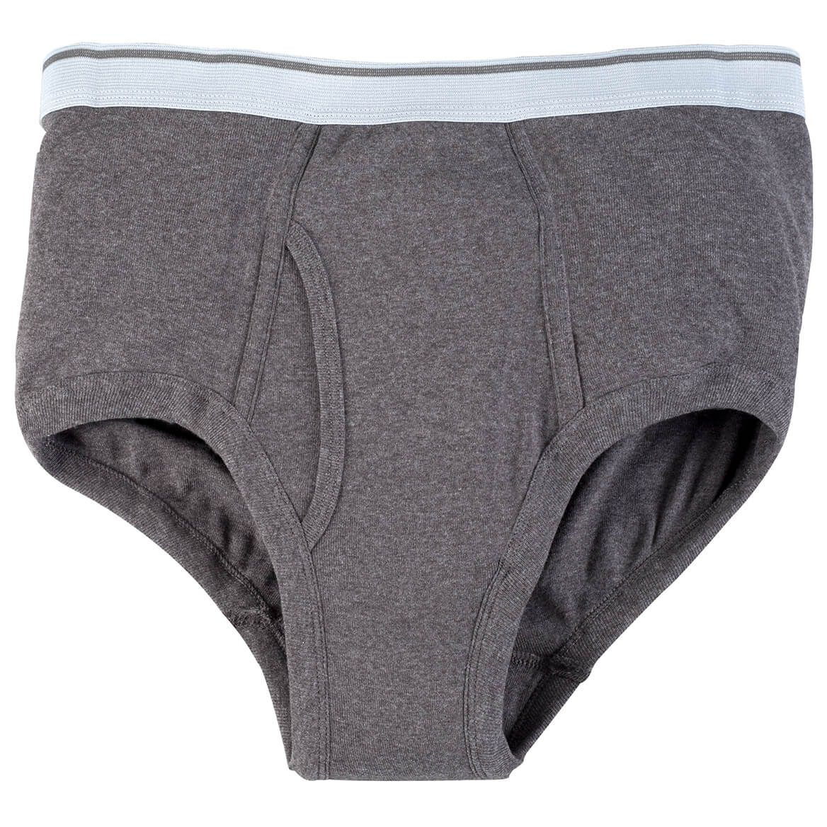 Incontinence Briefs For Men, Gray - 10 oz.-348097