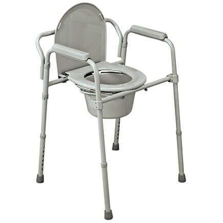 Folding Steel Commode-348710
