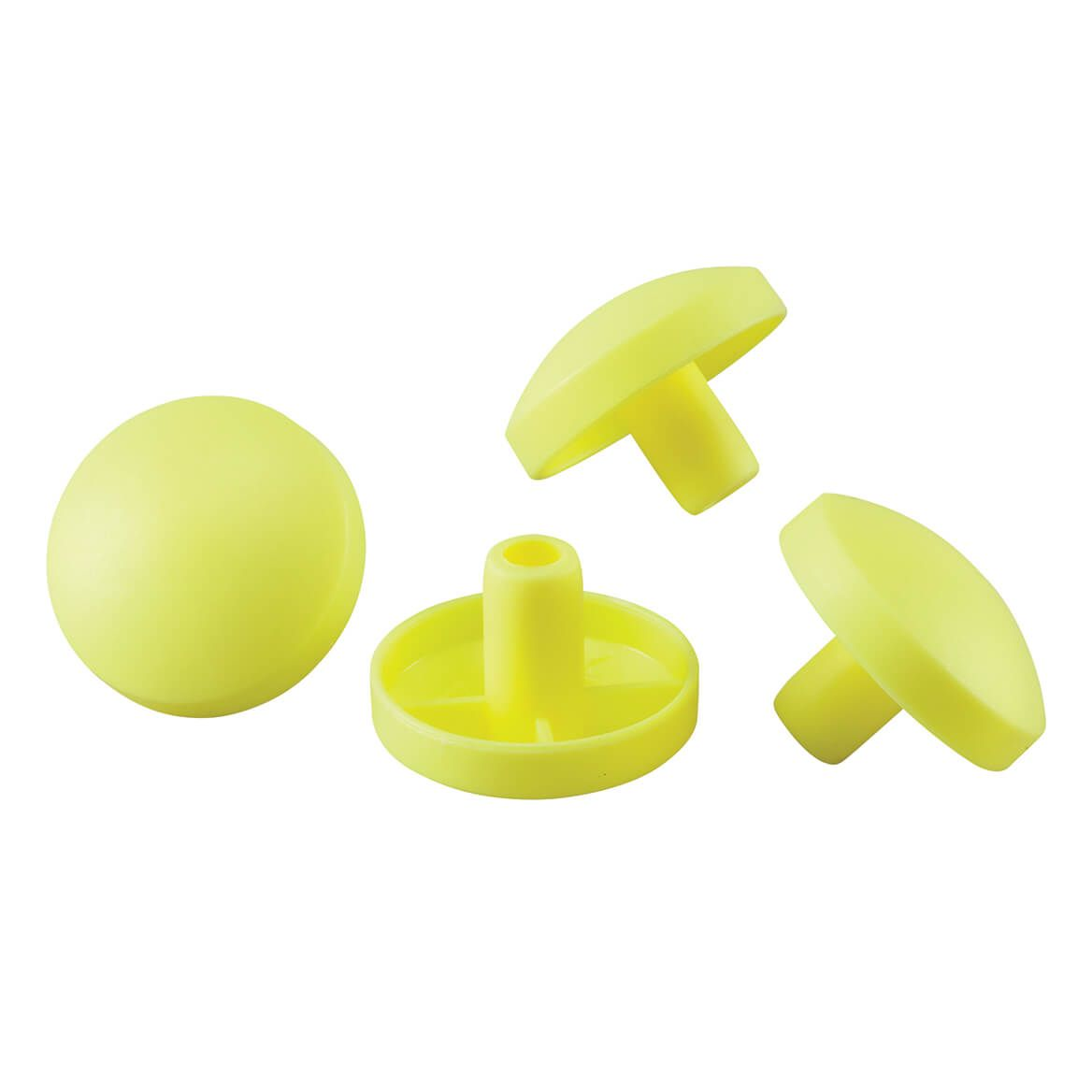 Walker Glide Cap Replacements - 4 Pack-348872