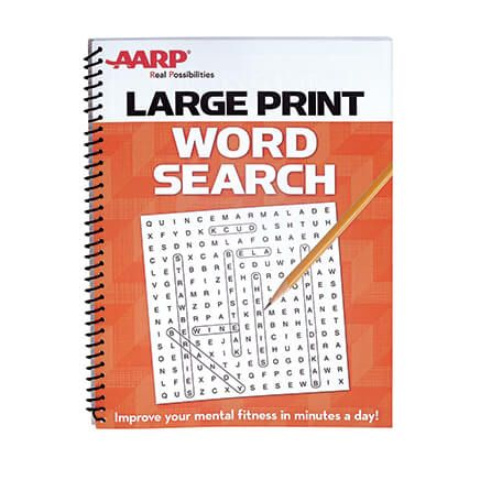 AARP Large Print Word Search-351096