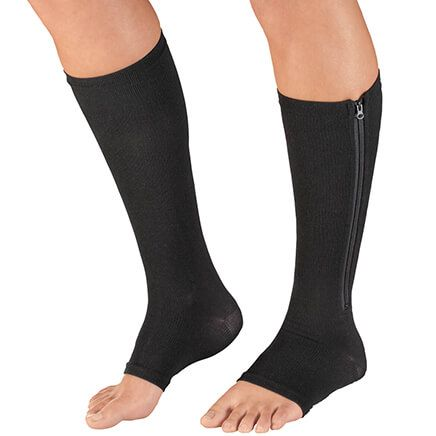 Magnetic Zipper Compression Socks-353654
