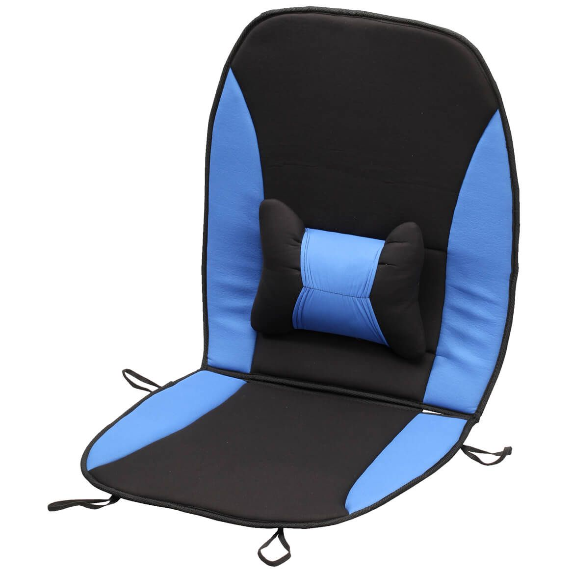 Memory Foam Seat Cushion with Lumbar Support-353764