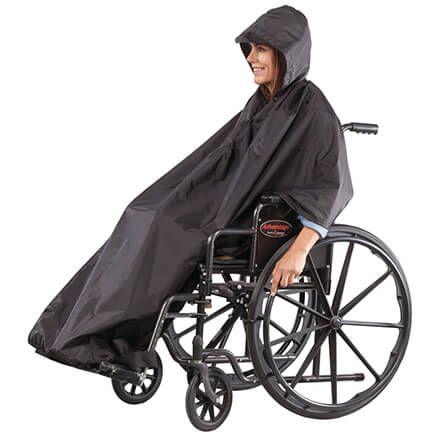 Wheelchair Rain Poncho-353929