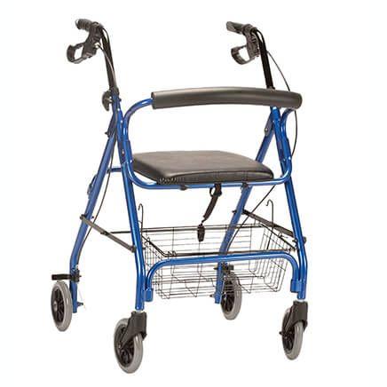 Aluminum Lite 4-Wheel Rollator-354207