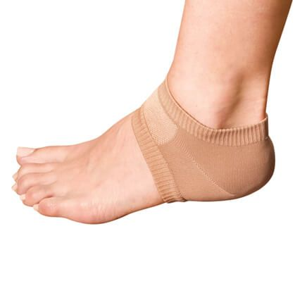 Silver Steps™ Antibacterial Gel Heel Protectors, 1 Pair-354607