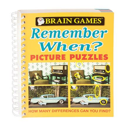 Brain Games® Remember When Picture Puzzle Book-358675