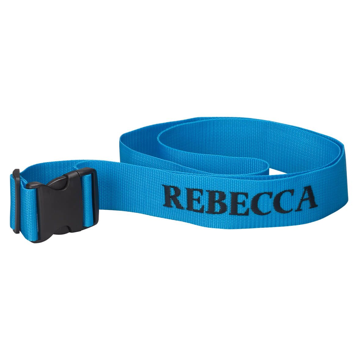 Personalized Blue Luggage Strap-360016
