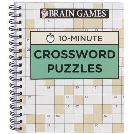 Brain Games® 10-Minute Crossword Puzzles-360063
