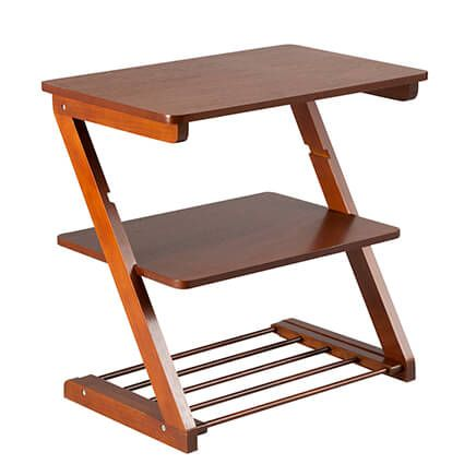 Side Table with Adjustable Shelf by OakRidge™-360085