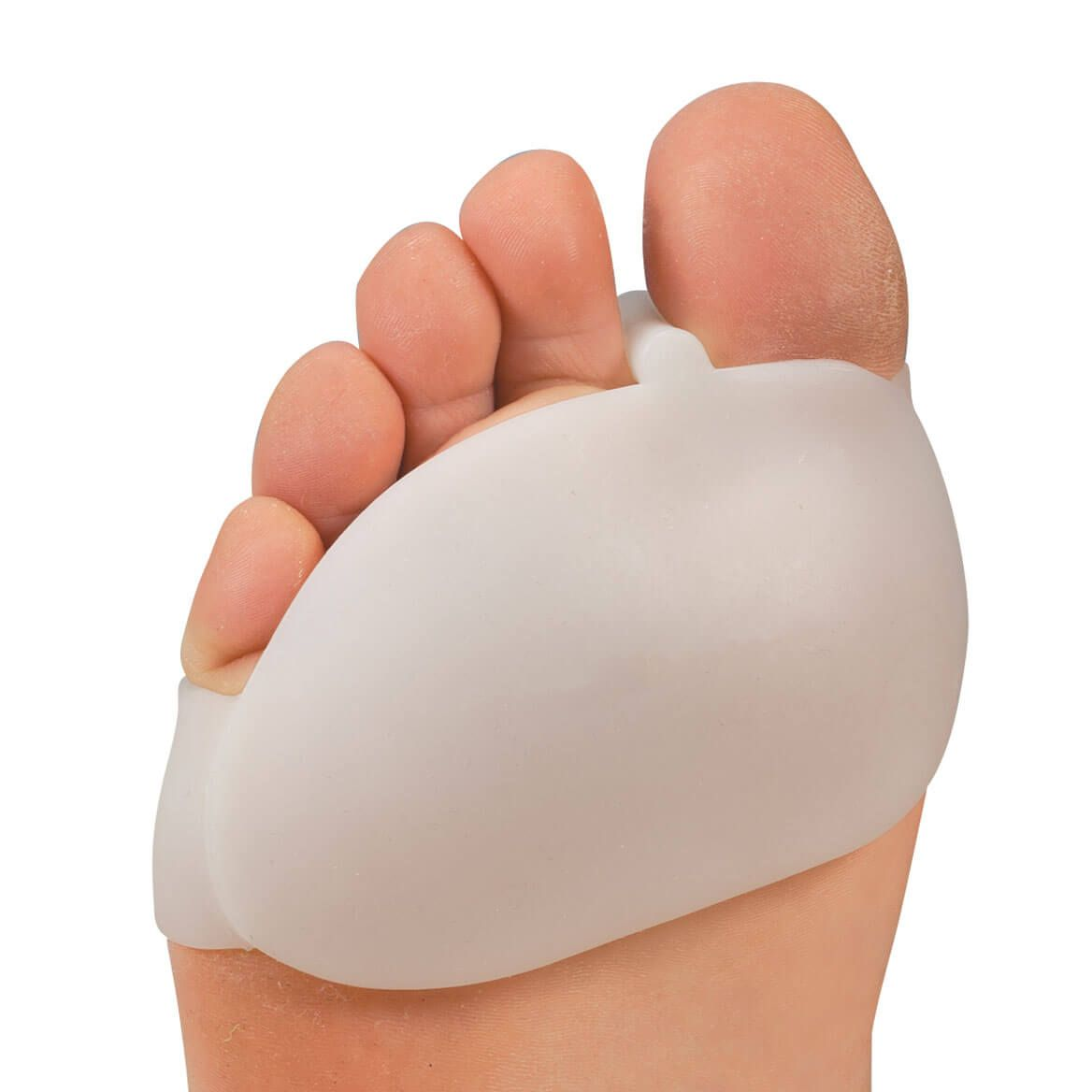 Silver Steps™ Silicone Ball of Foot Pad with Toe Separator - 1 Pair-360241