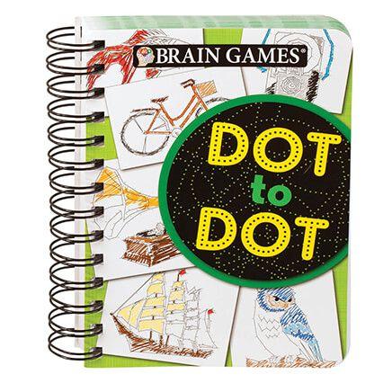 Mini Brain Games®  DOT TO DOT-360317
