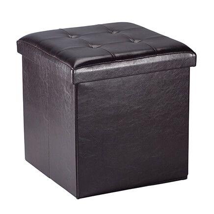 Folding Storage Ottoman-361058