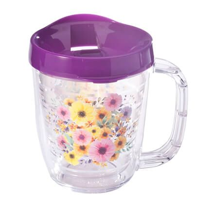 Tritan™ 12-oz. Insulated Mug, Floral-361353
