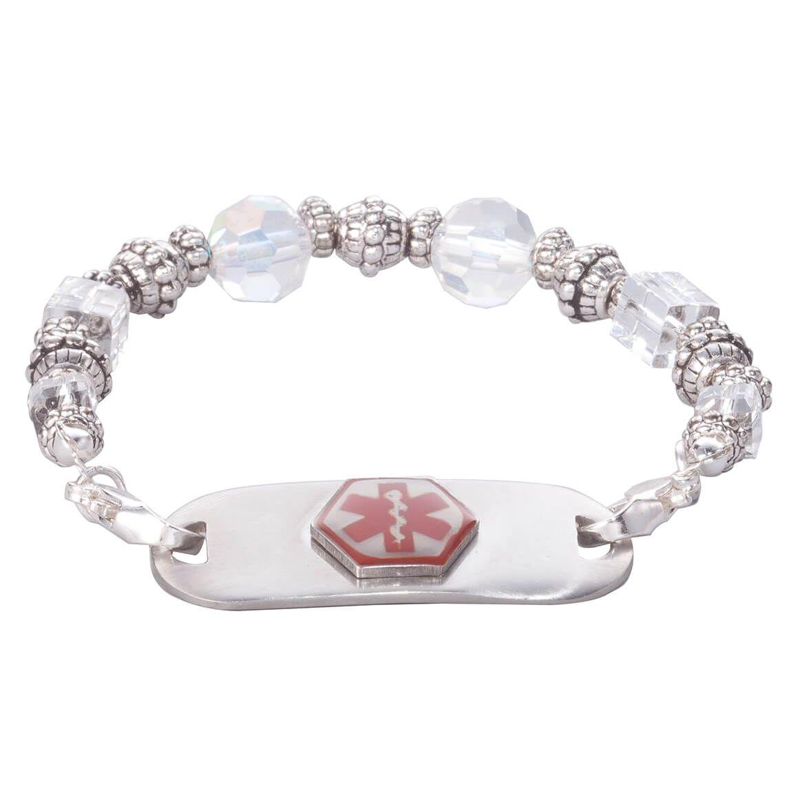 Personalized Medical ID Beaded Bracelet-361637
