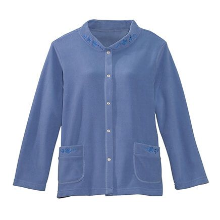 Fleece Bed Jacket-362827