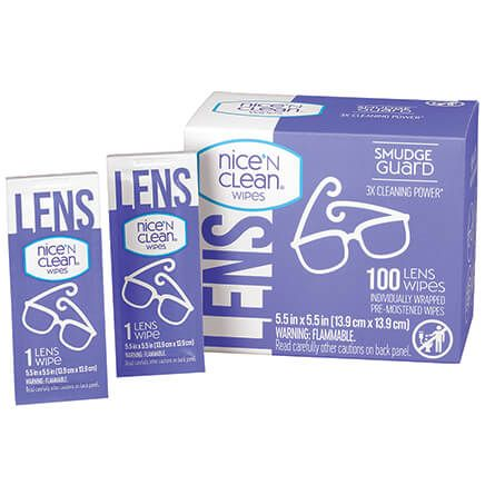 Nice 'n Clean Lens Wipes, 100 Ct.-363048