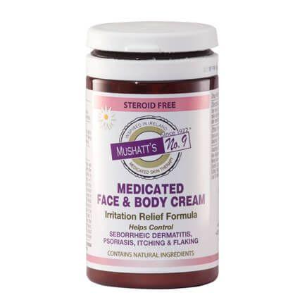 Mushatt's No. 9 Medicated Face & Body Cream-364400