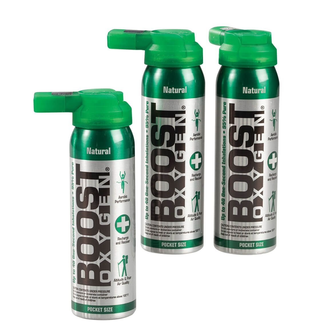 Boost Oxygen® Set of 3, Pocket Size-365552