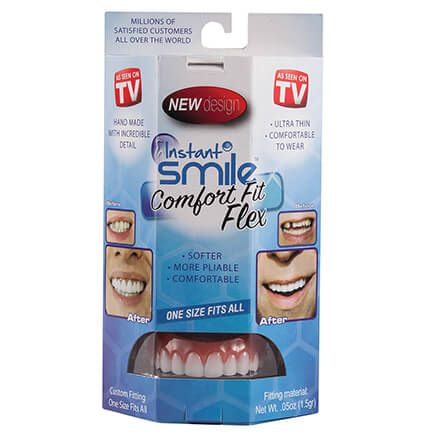 Instant Smile™ Comfort Fit Flexible Upper Veneer-366589