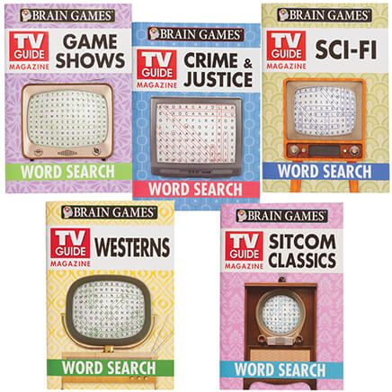 Brain Games™ TV Guide Word Search, Set of 5-366641