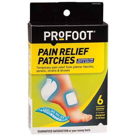 PROFOOT® Pain Relief Patches for Feet & Ankles Set of 6-366736