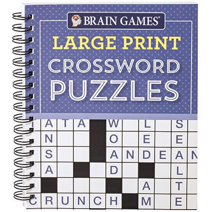 Brain Games® Large Print Crossword Puzzles-367424