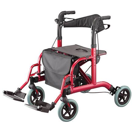 Rollator and Transport Chair Combo-367537