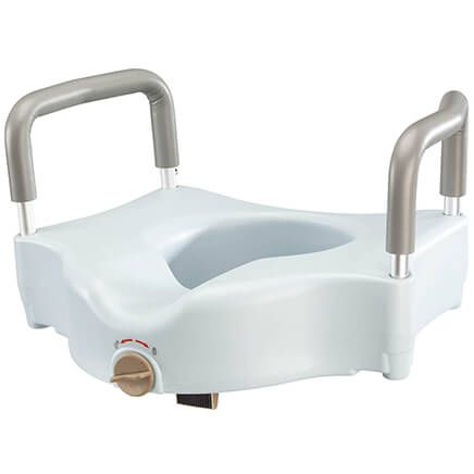Toilet Seat Riser with Arms-367655
